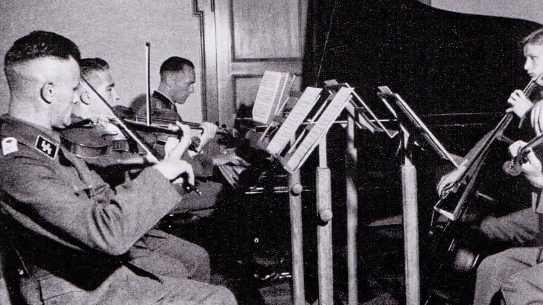 The Waffen-SS Music School At Braunschweig