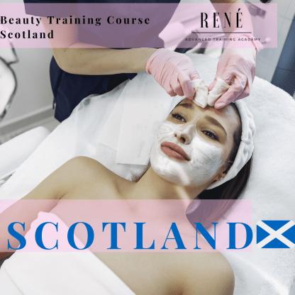 beauty training courses scotland