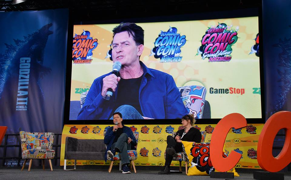 Charlie Sheen Live on Stage