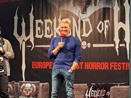 Die Legende auf der German Comic Con: Dolph Lundgren
