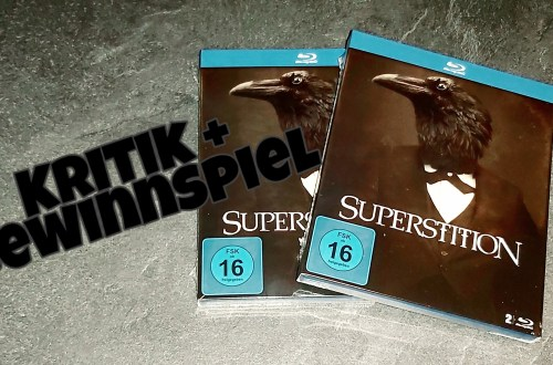 Die Blu-ray von Superstition