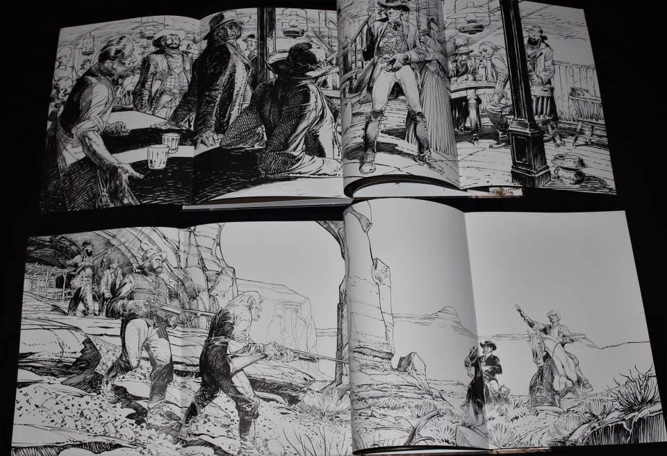 Zeichnungen von Francois Boucq