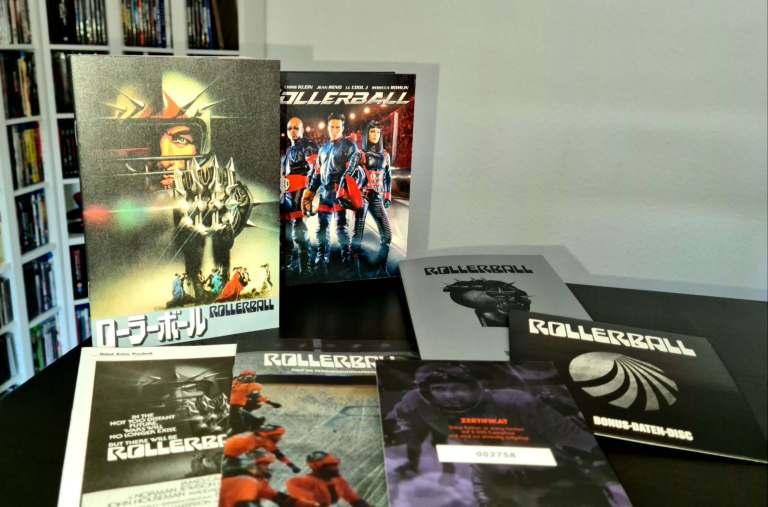 Die enthaltenen Extras der Rollerball Ultimate Edition