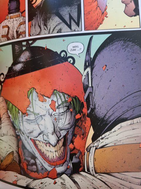 In Batman - Der Letzte Ritter auf Erden ist der Joker...Körperlos?