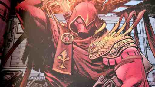 Ein neuer Gegner ist in Gotham - Azrael!(Bild: Renes Nerd Cave/Panini Verlag)
