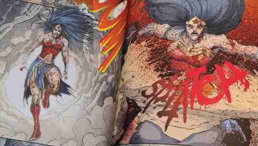 Wonder Woman hatte bereits bessere Tage (Bild: Renes Nerd Cave/Panini Verlag)