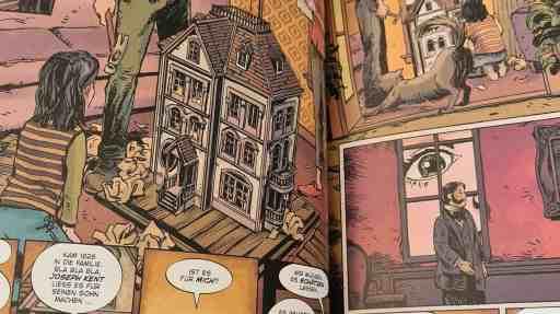 Alice erhält Das Puppenhaus (Bild: Renes Nerd Cave/Panini Verlag)