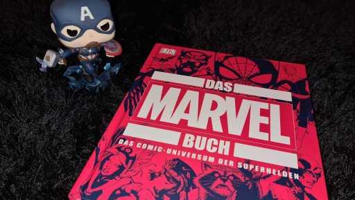 Das Marvel Buch aus dem DK Verlag (Bild: Renes Nerd Cave/DK Verlag)