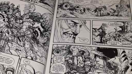Die Zeichnungen in Modded (Bild: Renes Nerd Cave/Dantes Verlag)