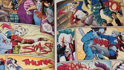Harley Quinn hat es faustdick hinter den Ohren! (Bild: Renes Nerd Cave/Panini Verlag)