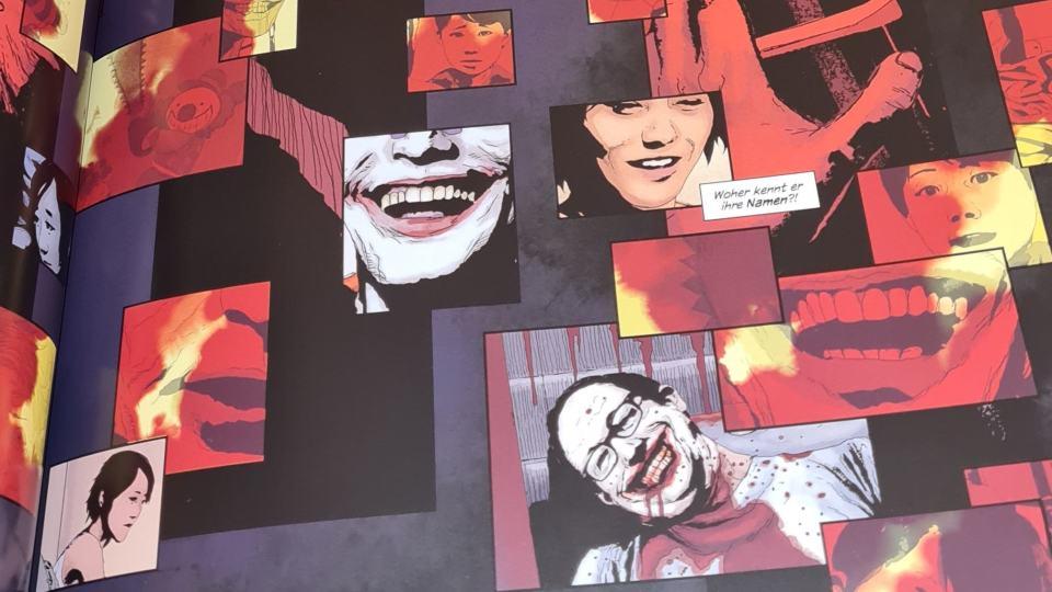 Andrea Sorrentinos Zeichnungen in Joker: Killer Smile erinnern dank cleverer Layouts nicht selten an Gideon Falls! (Bild: Panini Verlag/Renes Nerd Cave)