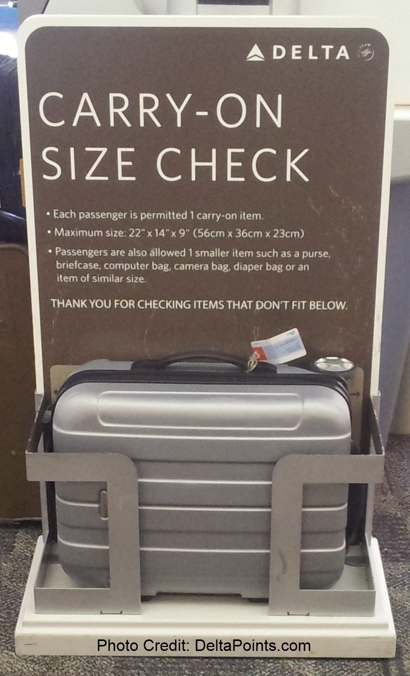 What Is The Quot Real Quot Delta Carry On Size Check Maximum Size