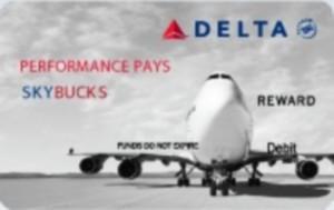 SKYBUCKS card delta employee rewards delta points blog