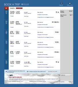 C Delta Booking San Diego to San Juan Puerto Rico