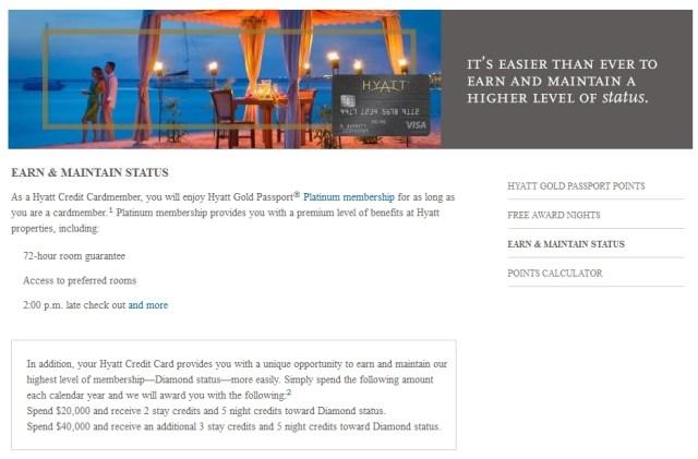 hyatt credit card diamond status | Applydocoument co