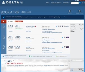 weekend lax to atl rt run