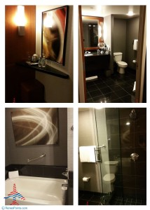 bathroom grand hyatt jr suite dallas dfw airport review renes points