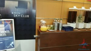 delta sky club atlanta ATL T concourse review RenesPoints blog (12)