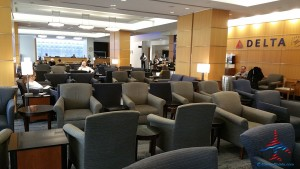 delta sky club atlanta ATL T concourse review RenesPoints blog (13)