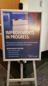 delta sky club atlanta ATL T concourse review RenesPoints blog (5)