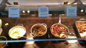 new food choices at DFW AMEX Centurion Lounge Renes Points blog (2)