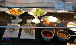 new food choices at DFW AMEX Centurion Lounge Renes Points blog (3)