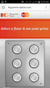 Priceless Surprises, from IHG Rewards Club and MasterCard game renespoints blog (2)