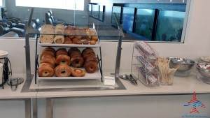 Food Choices Delta Sky Club NYC New York T4 Renes Points blog review (2)