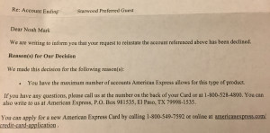Amex-Letter