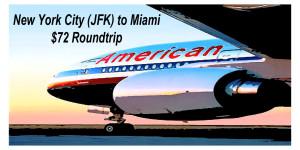JFK-MIA Plane