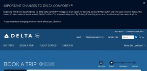 black popup box about delta comfort plus changes 16may16 expanded box