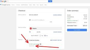 discounts google express