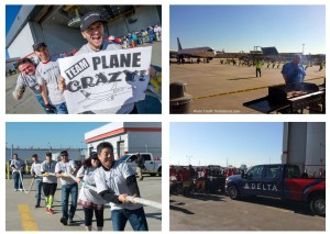 from delta charity jet pull before freddie awards 2015