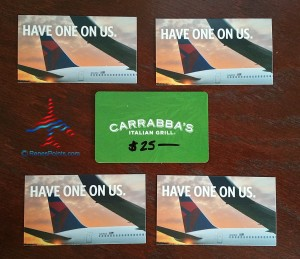 renes points carrabbas and delta hoou giveaway