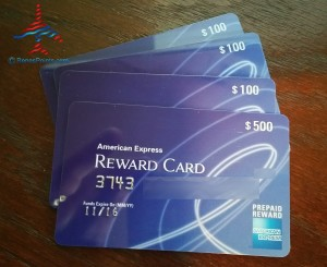 Delta AMEX gift cards from bump MSP RenesPoints blog