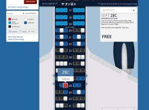 elites can pick an exit row free on delta