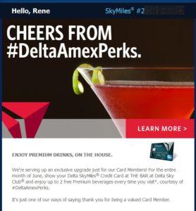 2 drinks free amex delta