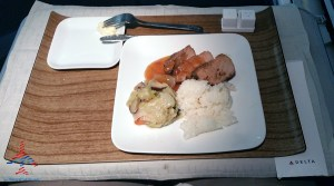 Delta 777 jfk to nrt renespoints blog review main meal