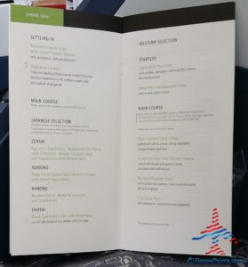 Delta 777 jfk to nrt renespoints blog review menu (2)