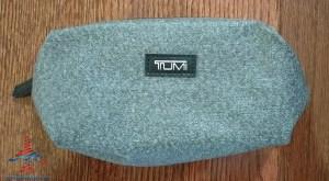 Delta Tumi Delta One Amenity Kit Review Black and Gray RenesPoints blog (5)
