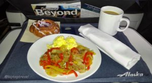 First Class Alaska Airlines