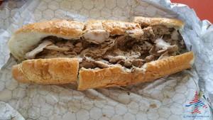 Johns Roast Pork sandwich PHL RenesPoints blog sandwich