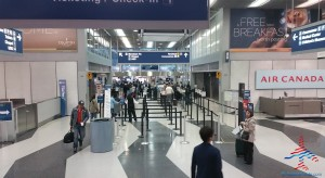 Tusday 5AM TSA Delta check point ORD chicago airport renespoints blog