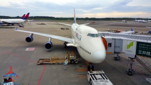 delta 747 from NRT RenesPoints blog