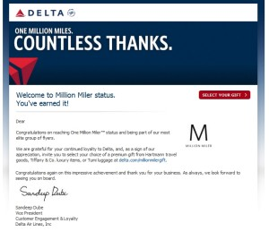 email from delta about becoming a delta 1mm renespoints blog