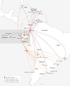 Avianca Airlines Route 1
