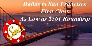 Dallas DFW - San Francisco SFO DL Aug 2016 Banner