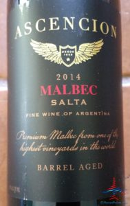 Ascencion Malbec Salta 2014 WSJwines AMEX SYNC offer RenesPoints blog (1)