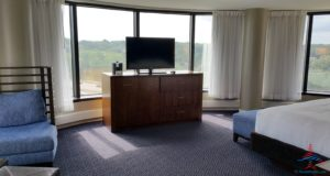 Hyatt Regency Lisle Naperville Suite Review RenesPoints travel blog Diamond Guest (12)
