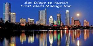 San Diego to Dallas Flight Banner